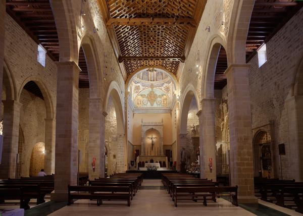 Interior de la Basílica menor de los Reales Alcázares, Úbeda
