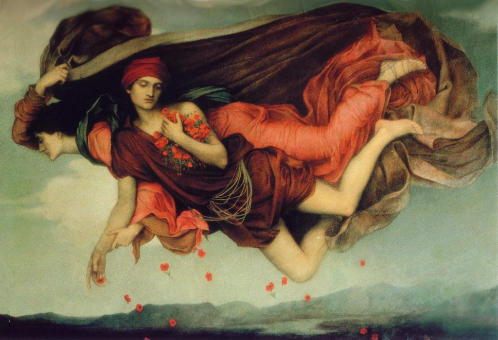 Evelyn Pickering. La nuit et le sommeil, 1878