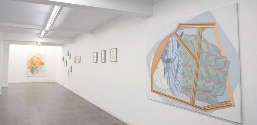 Galería Juan Silió, Santander. Exposición de Cristina del Campo