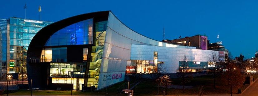 Kiasma. Museo de arte contemporáneo de Helsinki. Red de museos nacionales de Finlandia