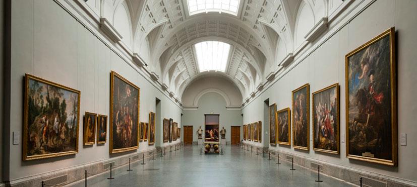 Museo Nacional del Prado. Galería central