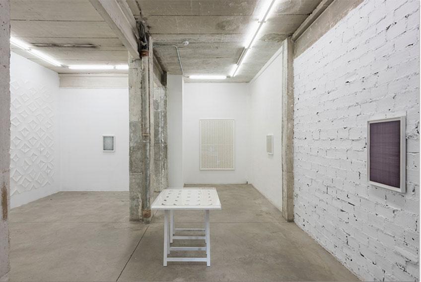 Galería Nogueras Blanchard. Exposición de Ignacio Uirarte, Madrid 2017
