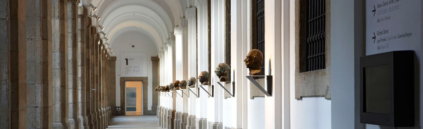 Museo Reina Sofía. Edificio Sabatini, claustro