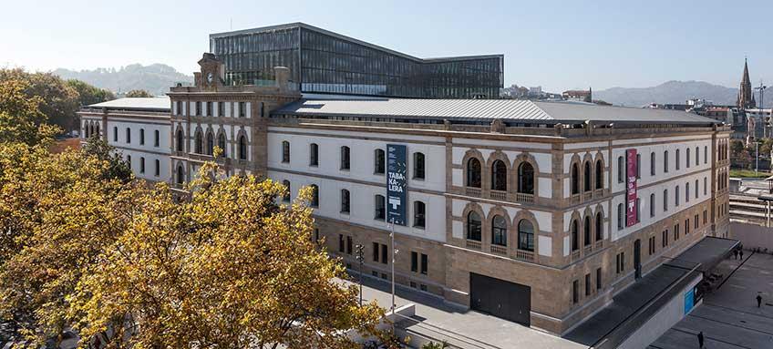 Edificio de Tabakalera, centro de arte contemporáneo de San Sebastián