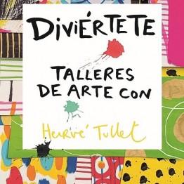 Diviértete con los talleres de arte de Hervé Tullet. Phaidon