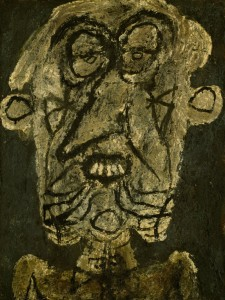 Jean Dubuffet. Supervielle, Large Banner Portrait