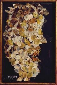 Jean Dubuffet. Cheveux de Sylvain