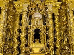 Churriguera. Retablo de San Esteban, Salamanca