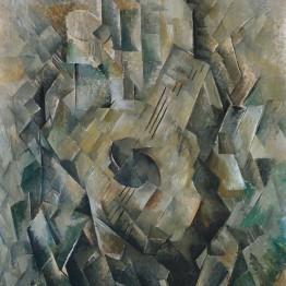 Cubismo. Autor: Mandora 1909-10 by Georges Braque 1882-1963
