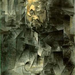 Cubismo. Autor: aPicasso. Retrato de Ambroise Vollard, 1910