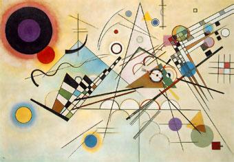 Kandinsky. Composición Nº 8, 1923