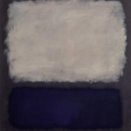 Expresionismo abstracto. Mark Rothko. Blue and gray