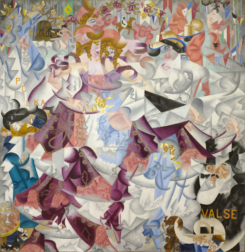 Severini. Jeroglífico dinámico del Bal Tabarin, 1912. MoMA