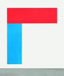 Ellsworth Kelly. Chatham VI Red Blue, 1971