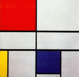 Piet Mondrian. Composition C