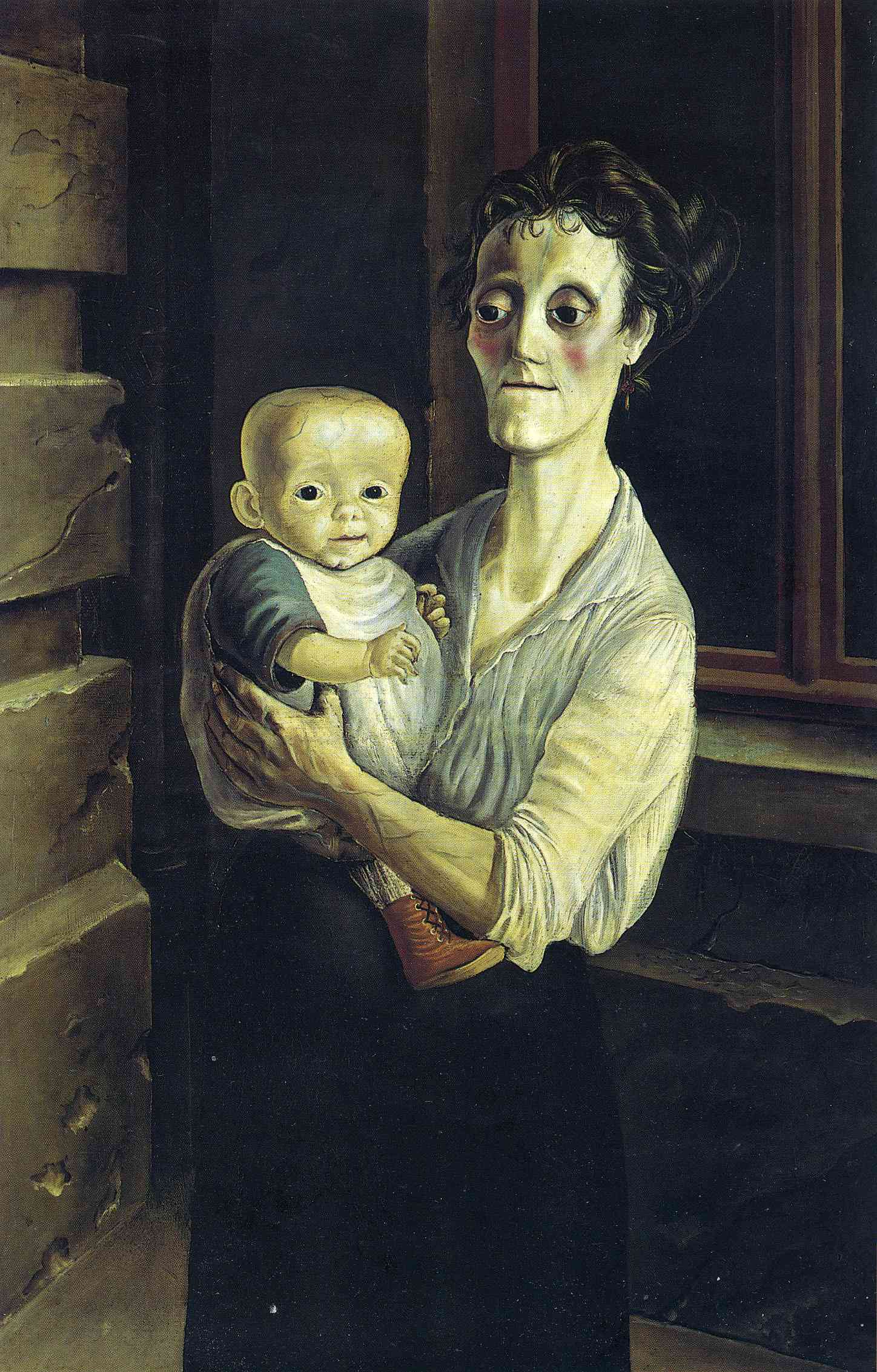 Otto Dix. Mother with Child