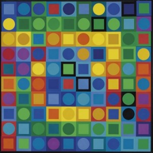 Vasarely. Planetary Folklore Participations No. 1