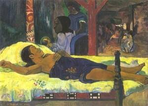 Gauguin. Nacimiento de Cristo