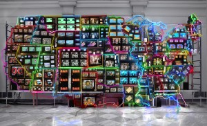 Nam June Paik. Electronic Superhighway