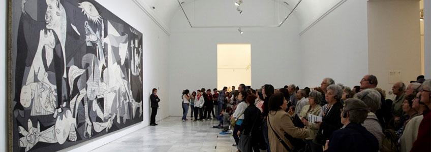 Vista de la sala 2016. Guernica. Museo Reina Sofía