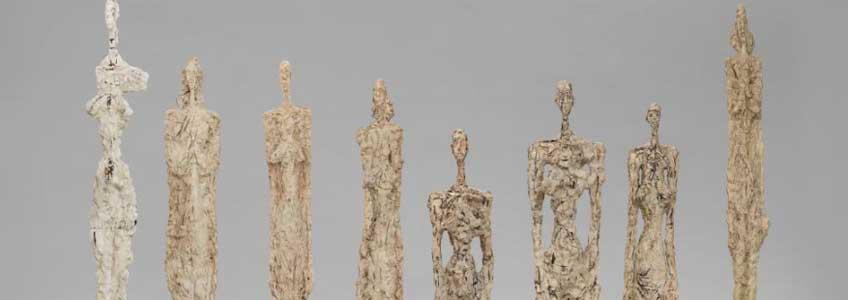 Alberto Giacometti. Mujeres de Venecia (Femmes de Venise), 1956. Fondation Giacometti, París © Succession Alberto Giacometti ,VEGAP, Bilbao, 2018