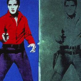 Con Warhol, dentro de la Tate