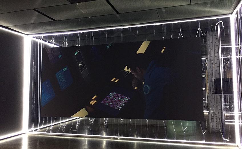 Stanley Kubrick. 2001: Odisea del espacio. Escena de la partida de ajedrez entre el astronauta Frank y HAL 9000