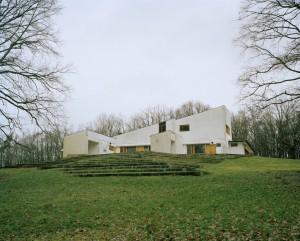 Alvar Aalto. Maison Louis Carré, Bazoches-sur-Guyonne, França, Alvar Aalto, 1956-1959, 1961-1963 © Armin Linke, 2014. Gentileza de la Galleria Pescamara, Pescara