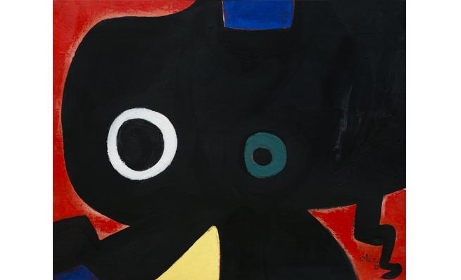 Joan Miró. Personnage, 1973. Colección Banco Santander