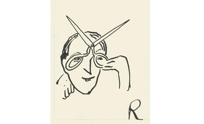 Ramón Gómez de la Serna. Greguería, 1934. Museo ABC