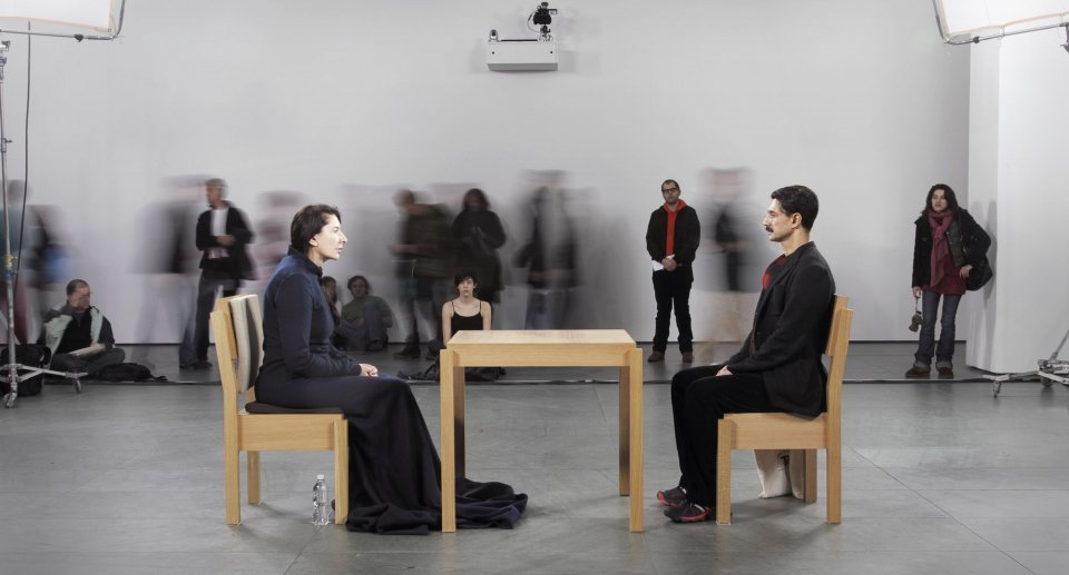 Marina Abramovic. The artist is present. MoMA, 2010