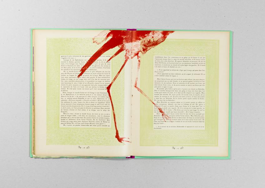 José María Sicilia. Le Livre des Mille et Une Nuits Volumen II, 1997. Cortesía del artista y Atelier Michael Woolworth, París.  Jose María Sicilia, VEGAP, Madrid, 2016