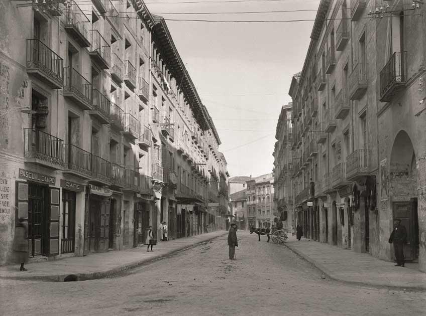 Rodolfo Albasini. Coso Bajo. Huesca, 1910-1920