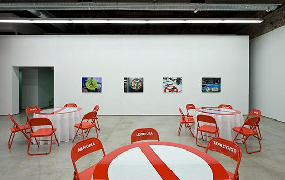 Vistas de la exposición en Galería MPA Pamplona