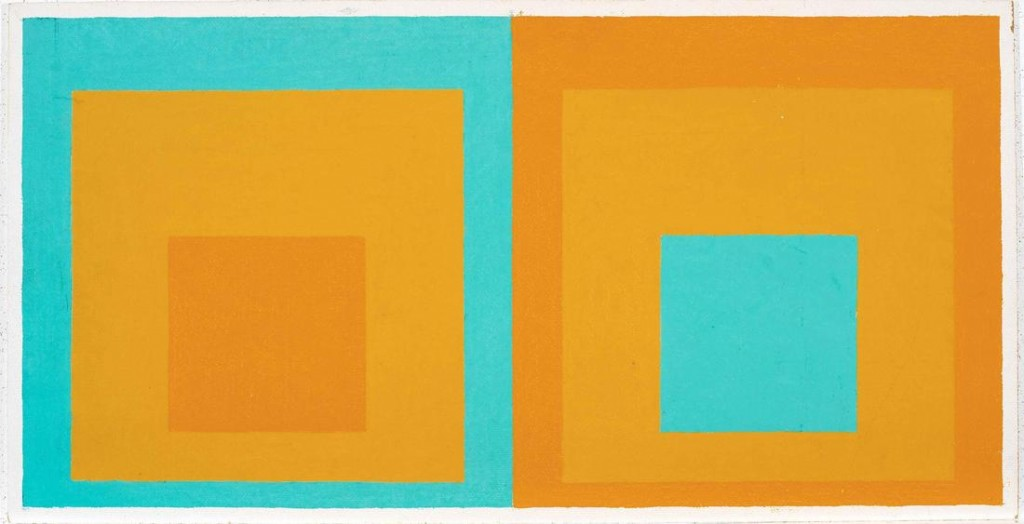Josef Albers. Double Homage to the Square, 1957