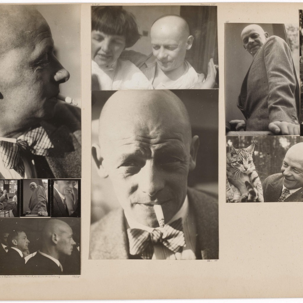 Josef Albers. Oskar Schlemmer; [Schlemmer] in the Master's Council; [Schlemmer] with Wittwer, Kallai, and Marianne Brandt, Preliminary Course Exhibition; [Schlemmer] and Tut, 1928–1930/32