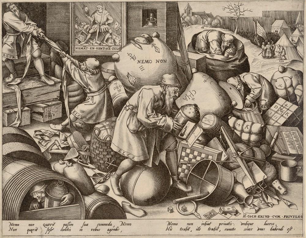 Brueghel el Viejo. Elck, hacia 1558. The Albertina Museum, Viena