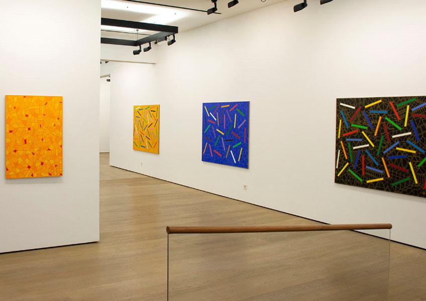 """""""Alfredo Alcain Pinturas, 2016-2018"""" en la Galería Fernández-Braso"""