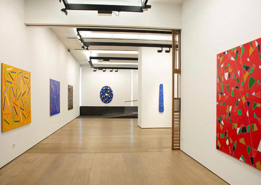 """""""Alfredo Alcain. Pinturas, 2016-2018"""" en la Galería Fernández-Braso"""