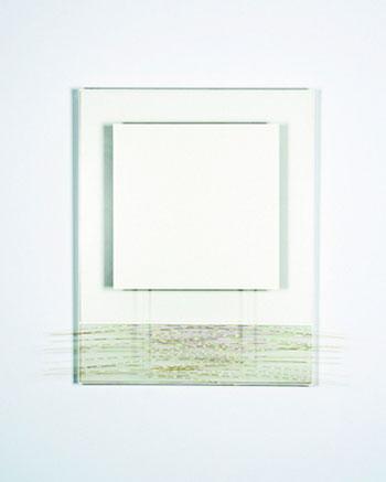 Jesús Soto. Blanco sobre blanco y vibración (1991). Sala Alcalá 31. Arte latinoamericano en las colecciones del CA2M y la Fundación ARCO