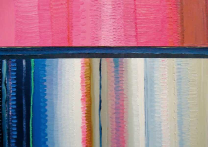 Alejandro Botubol. Pink-Tape (detalle).