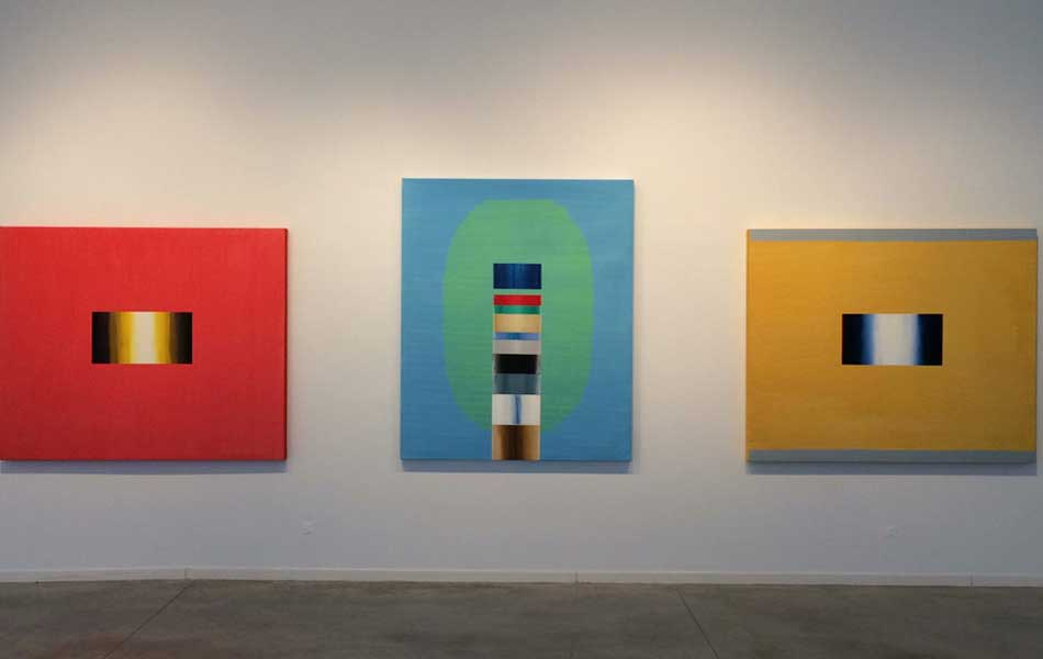 """Vista de la exposición """"Tapes"""" en el Centro de Arte Alcobendas"""