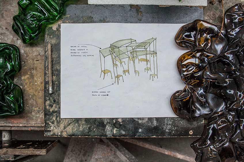 """oceto de """"El Patio"""", obra de Nacho Carbonell para crear/sin/prisa"""