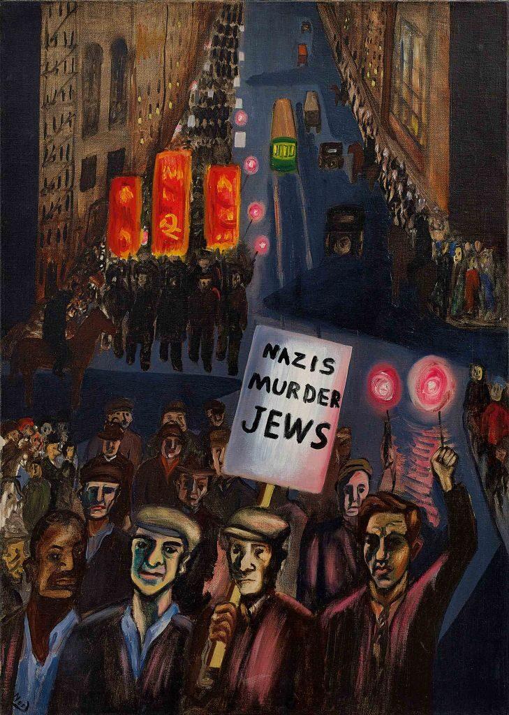 Alice Neel. Los nazis asesinan a los judíos, 1936. Rennie Collection, Vancouver © The Estate of Alice Neel, Bilbao, 2021