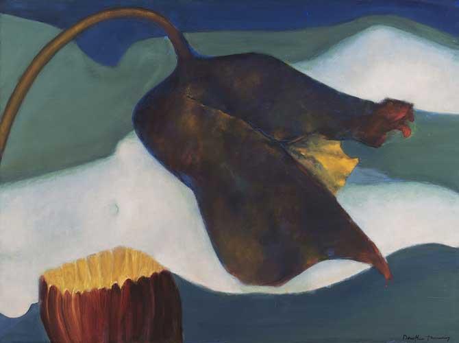 Dorothea Tanning. Agripedium vorax Saccherii (Clog Herb), 1997