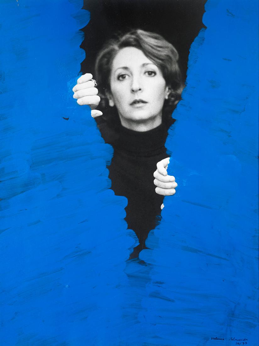 Helena Almeida. Pintura habitada, 1976. Fallece la artista portuguesa