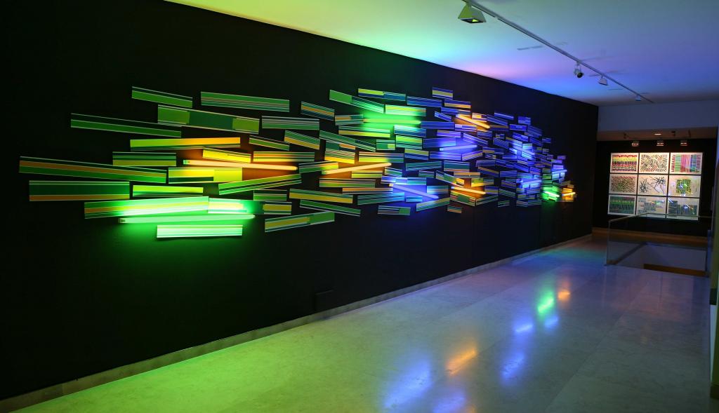 """Arancha Goyeneche. """"Territorio de luz"""" en el Museo de Altamira"""
