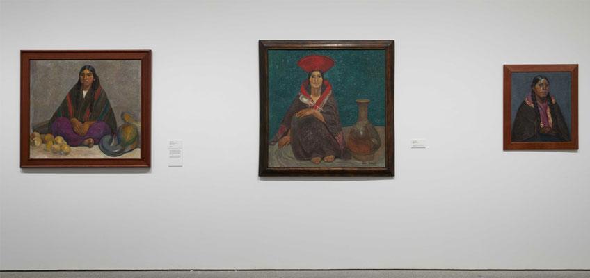 """Vista general de la exposición """"Redes de vanguardia. Amauta y América Latina, 1926-1930"""" en el Museo"""