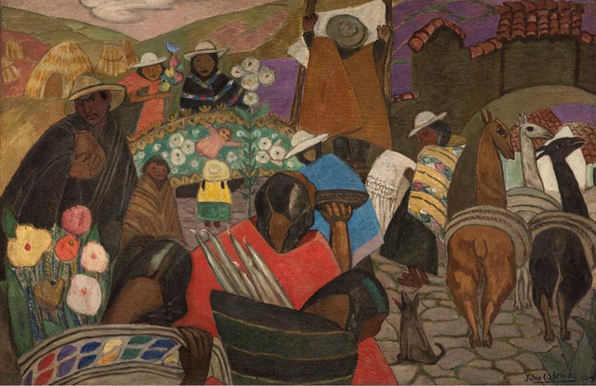 Julia Codesido. Mercado indígena, 1931. Colección privada, Lima