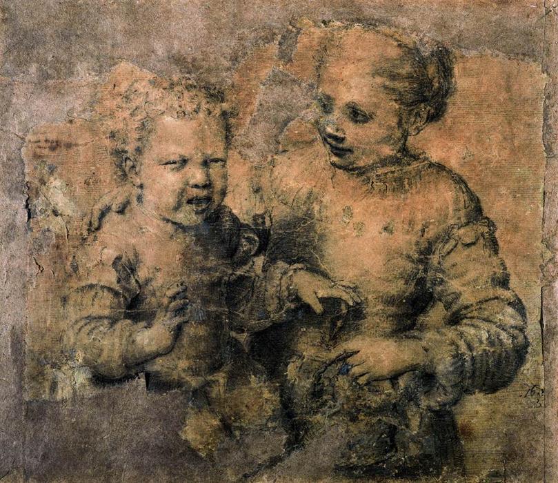 Sofonisba Anguissola. Niño mordido por un cangrejo